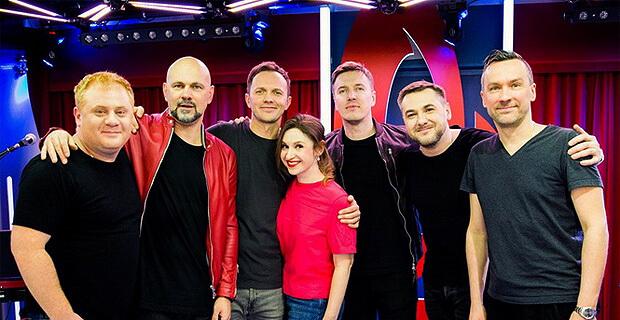 Группа BrainStorm дала живой концерт в «Золотом микрофоне» на «Русском Радио» - Новости радио OnAir.ru