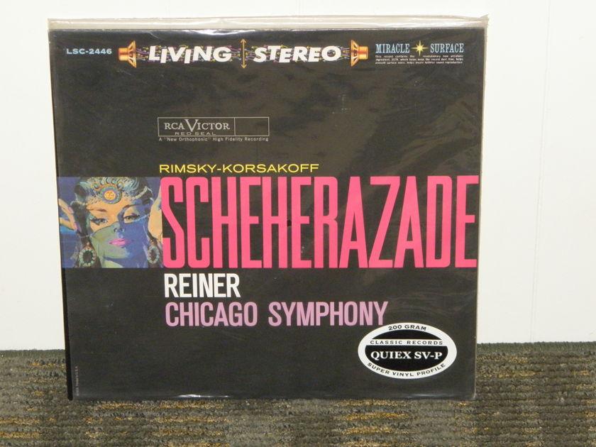 "Reiner/Chicago Symphony - Rimsky-Korsakoff ""Scheherazade"" Classic Records 200g RCA LSC 2446"