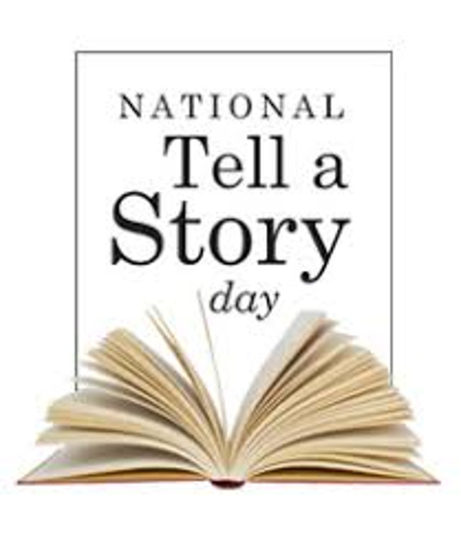 National Tell a Story Day!  Tuesday April 27th