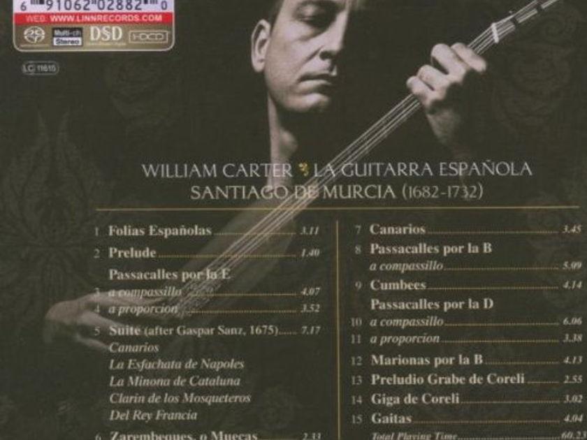 William Carter - Santiago De Murcia La Guitarra Española Hybrid SACD - DSD