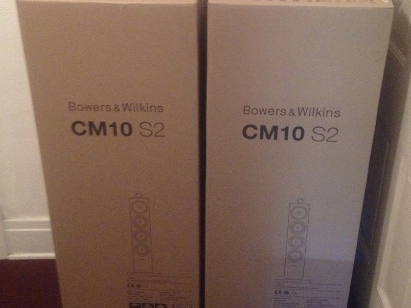 Bowers and Wilkins CM10 S2 Three Way Floorstanding Speakers CM 10 S2