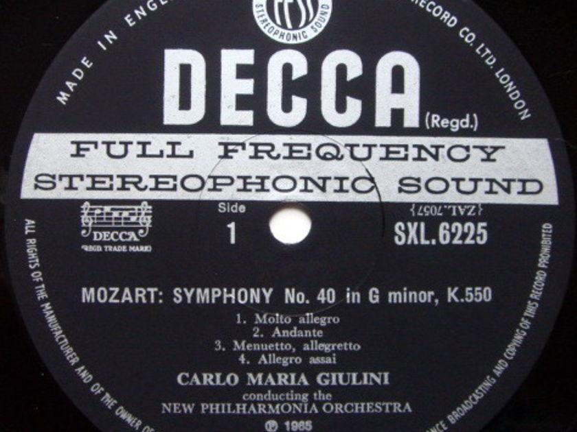 DECCA SXL-WB-ED3 / GIULINI, - Mozart Symphonies No.40 & 41 Jupiter, NM!