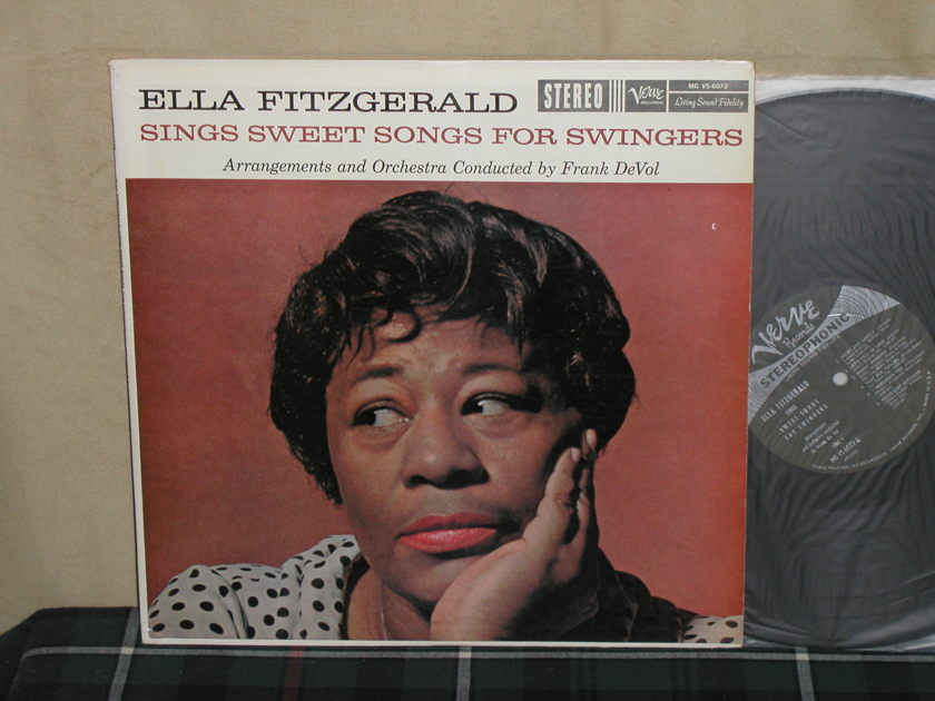 Ella Fitzgerald - Sings Sweet Songs For Swingers Verve V6-6072 Stereo first pressing.