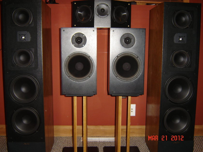 Snell CV & KIII and Center Channel