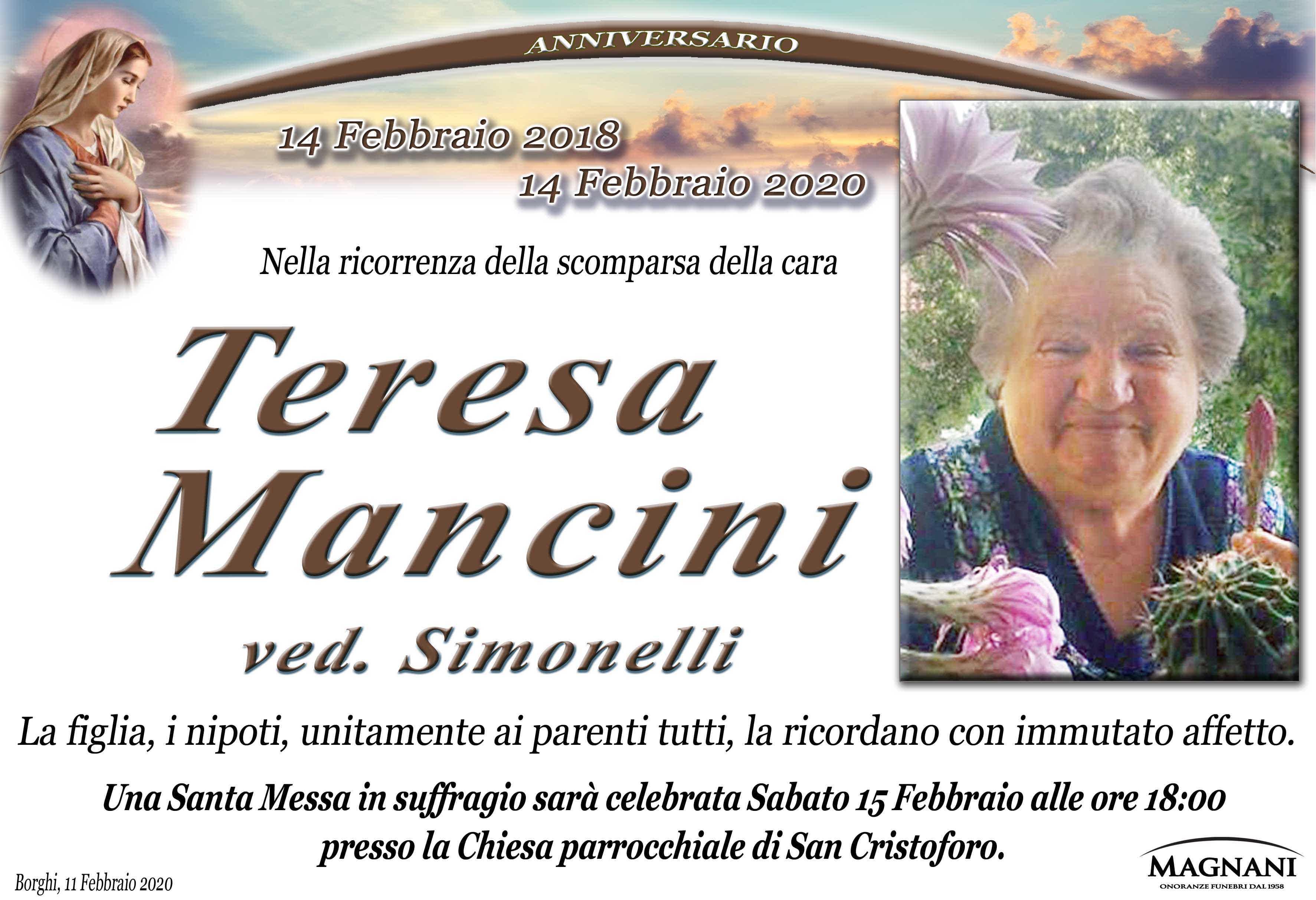Teresa Mancini