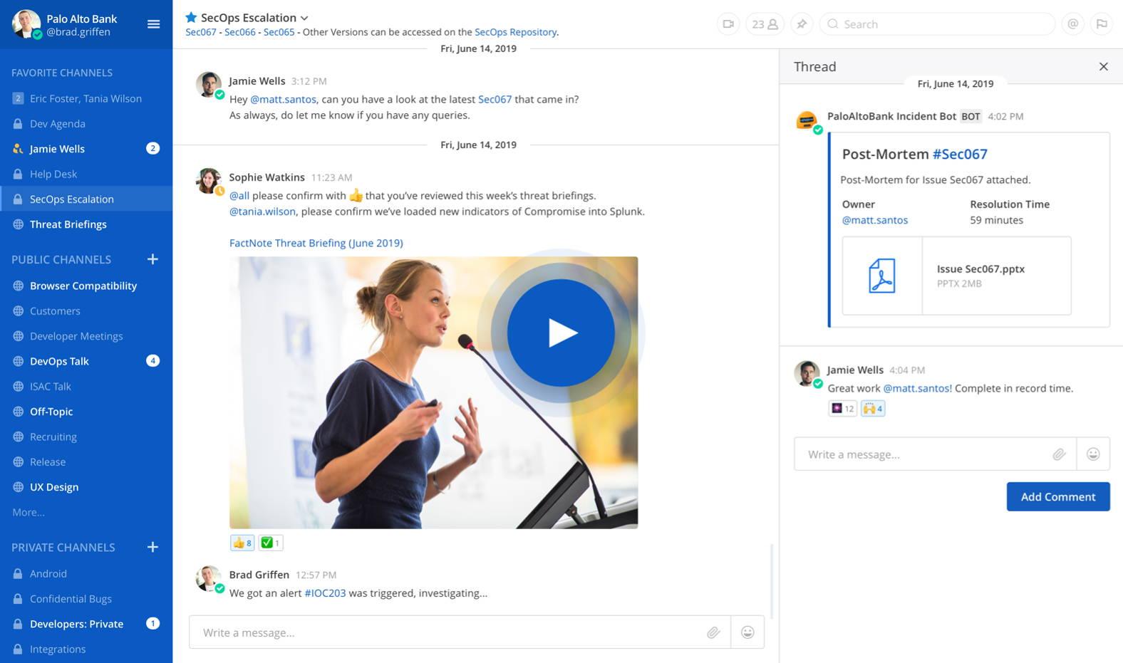 أفضل بدائل Slack على نظام لينكس لبيئات العمل وتنظيم العمل 1