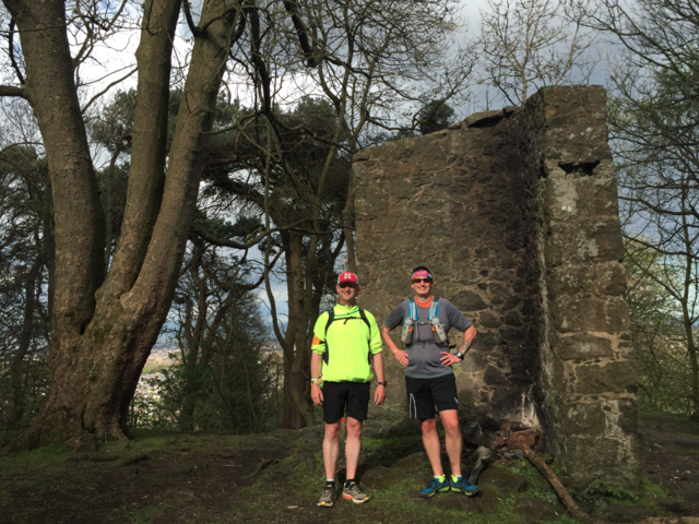 7 Hills of Edinburgh (14 tough miles) Running tour