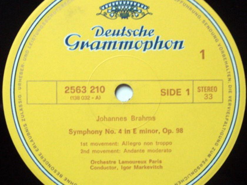 DG / MARKEVITCH-CASALS-GENDRON, - Lamoureux Orchestra, MINT, 4LP Box Set!