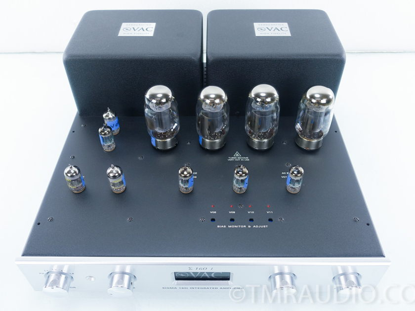 VAC  Sigma 160i  Tube Integrated Amplifier; XLR; MC Phono (8936)