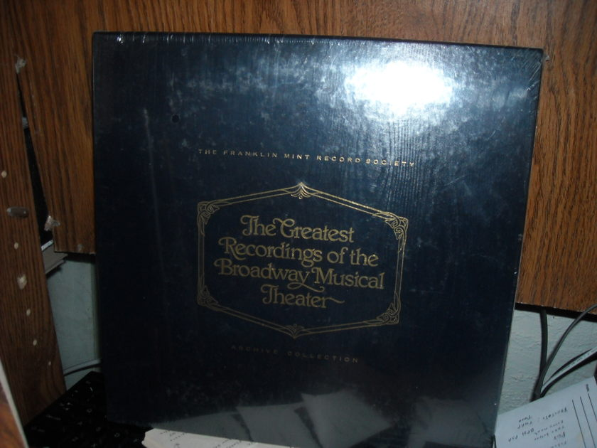 Broadway: The World On Stage - Vol I  Archive Collection (sealed) Franklin Mint Record  LP (c)