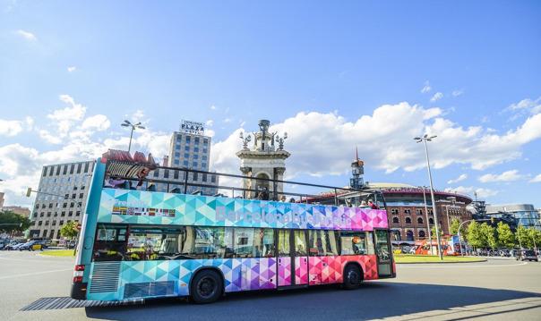 Обзорная экскурсия по Барселоне на двухэтажном автобусе