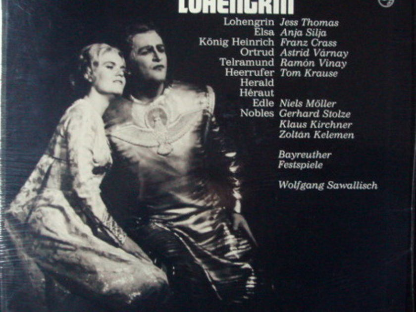 ★Sealed★ Philips / SAWALLISCH, - Wagner Lohengrin, 4LP Box Set!