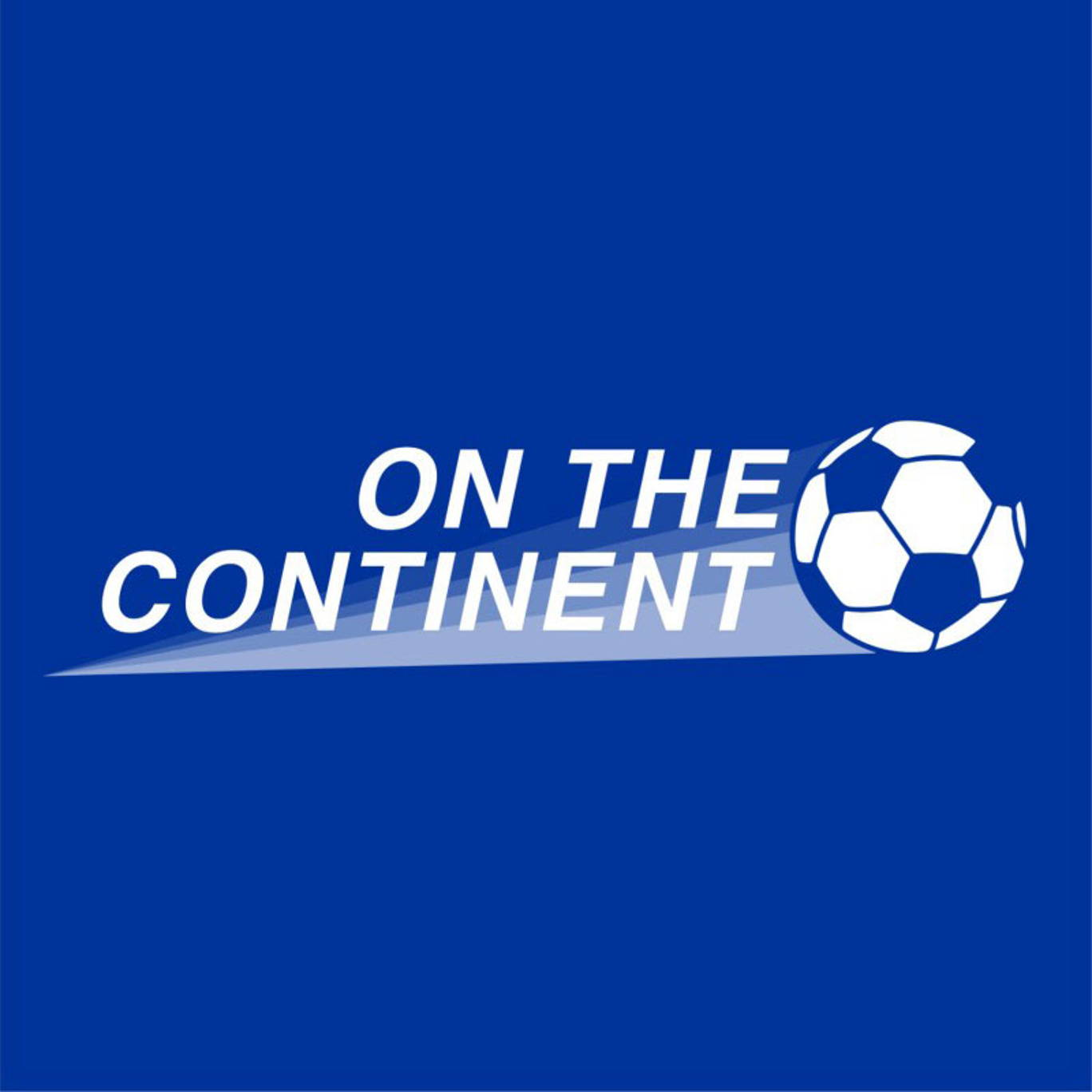 The artwork for the On The Continent podcast.