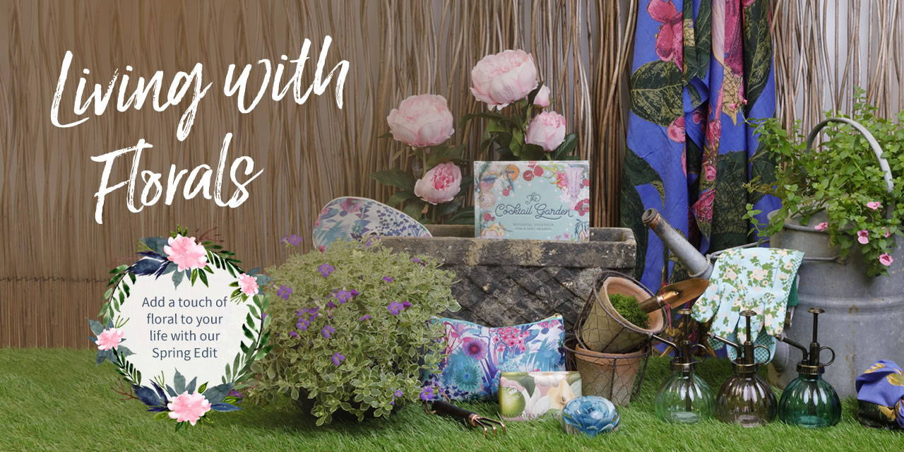 Living with florals header