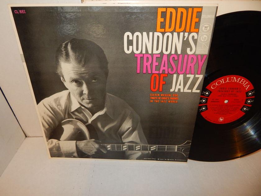 EDDIE CONDON'S  - Treasury Of Jazz Condon and His All-Stars Columbia CL 881 Mono LP