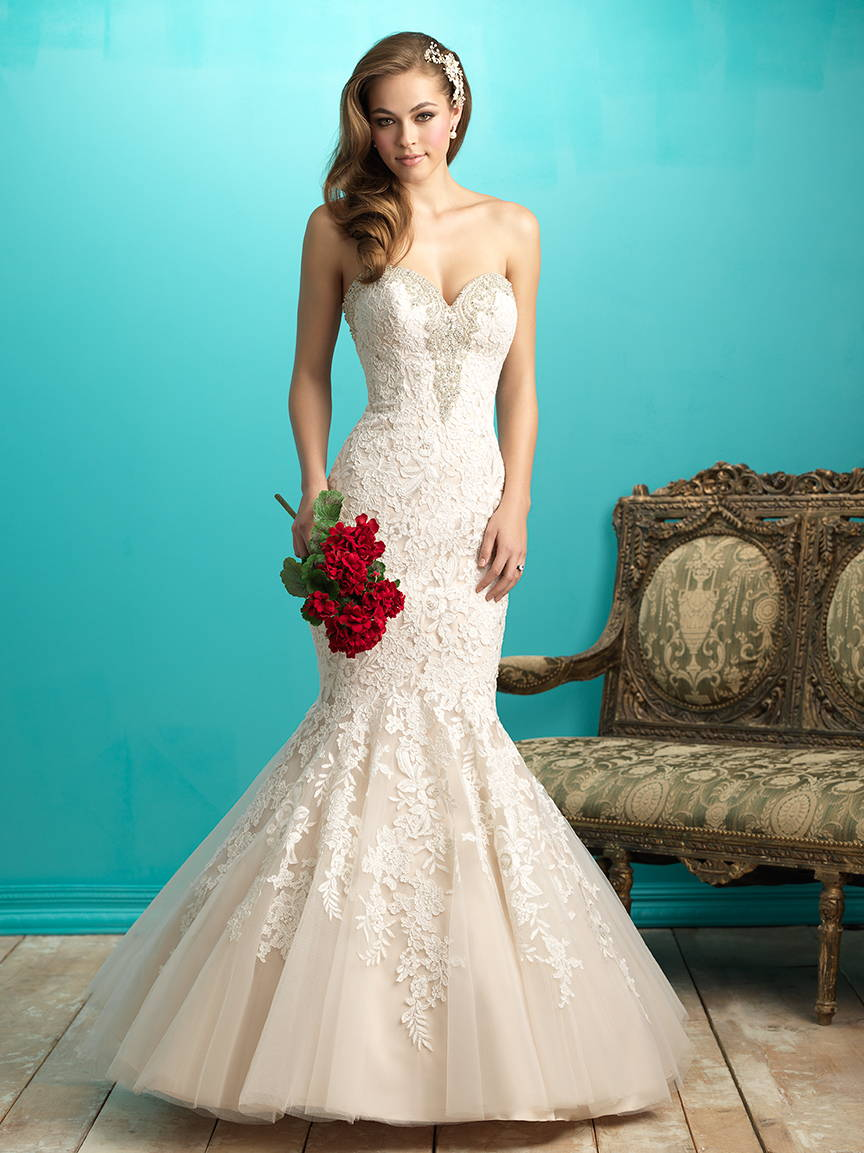 ALLURE  WEDDING DRESS 9266