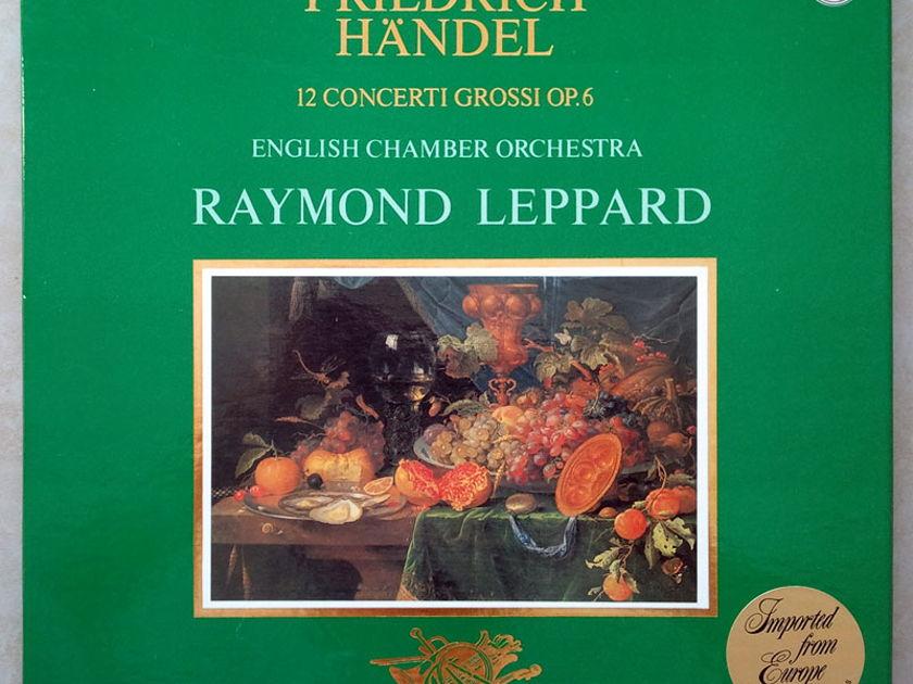 PHILIPS | LEPPARD/HANDEL - 12 Concerti Grossi Op. 6 / 3-LP / NM