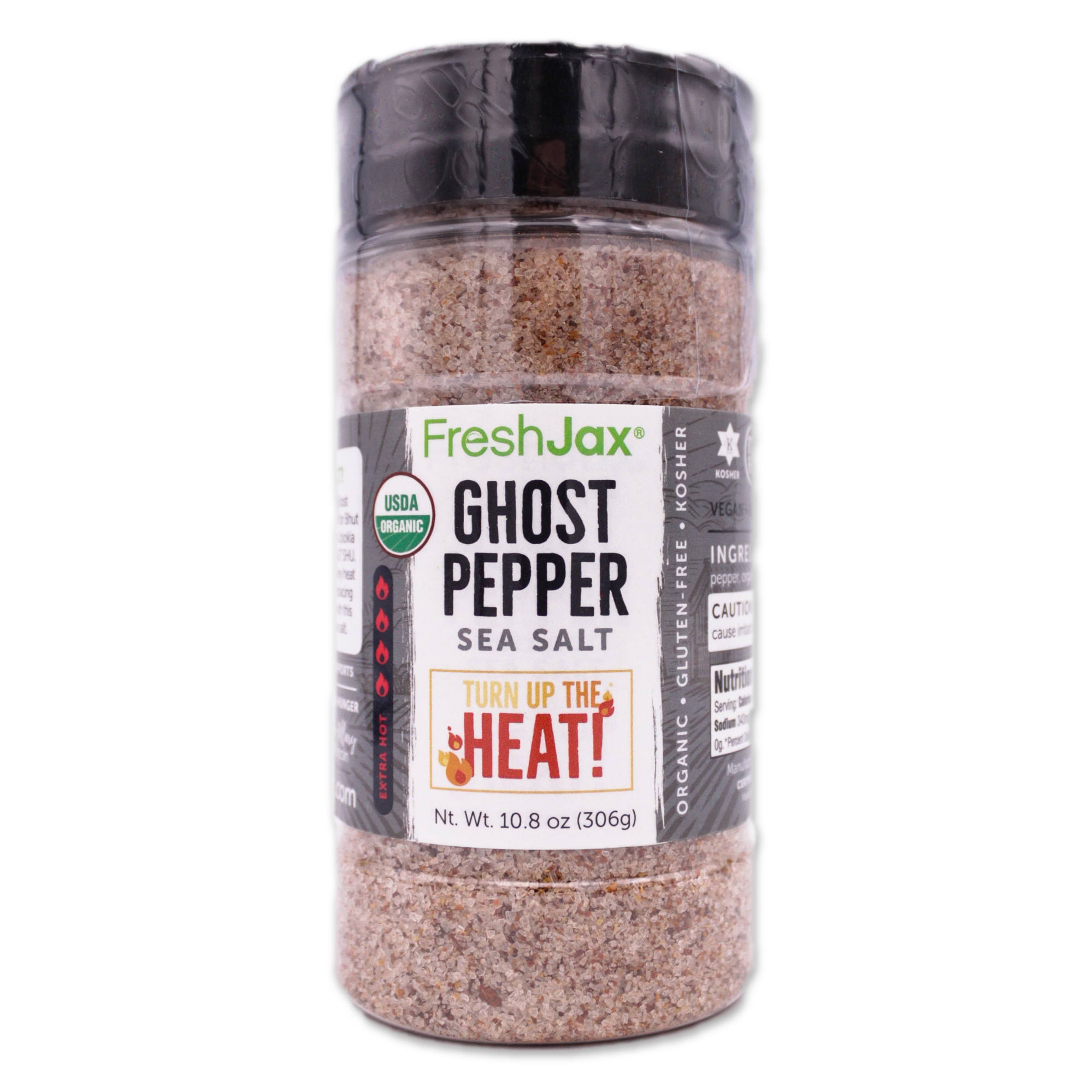 Ghost Pepper Sea Salt FreshJax Organic Spices