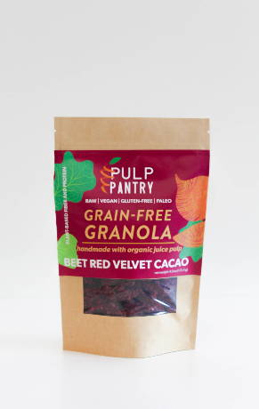 Pulp Pantry Grain-Free, Paleo, Raw, Gluten-free, Organic, Local, Plant-based, dairy-free, refined-sugar free holiday granola