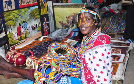 Kenyatta Market Shopping Tour