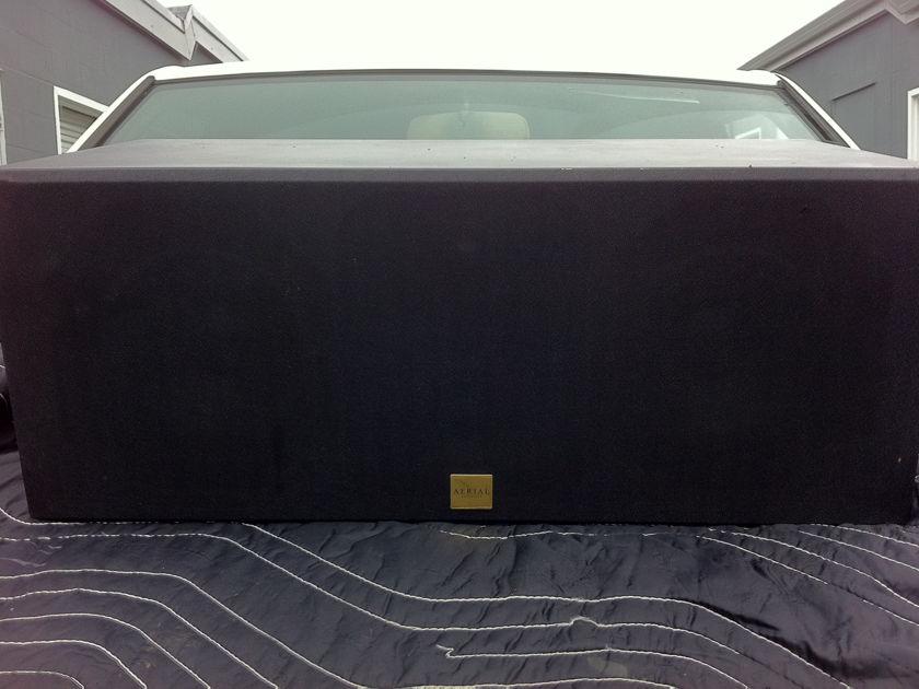 Aerial acoustics model CC3 center speaker