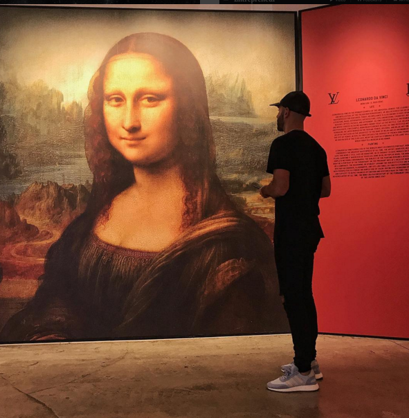 mark and the mona lisa