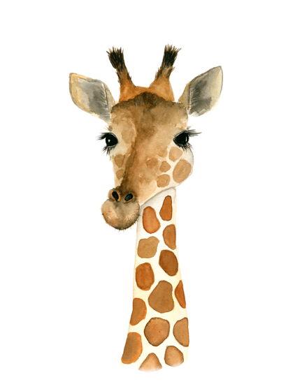 """Постер """"Плюшевый жираф"""""""