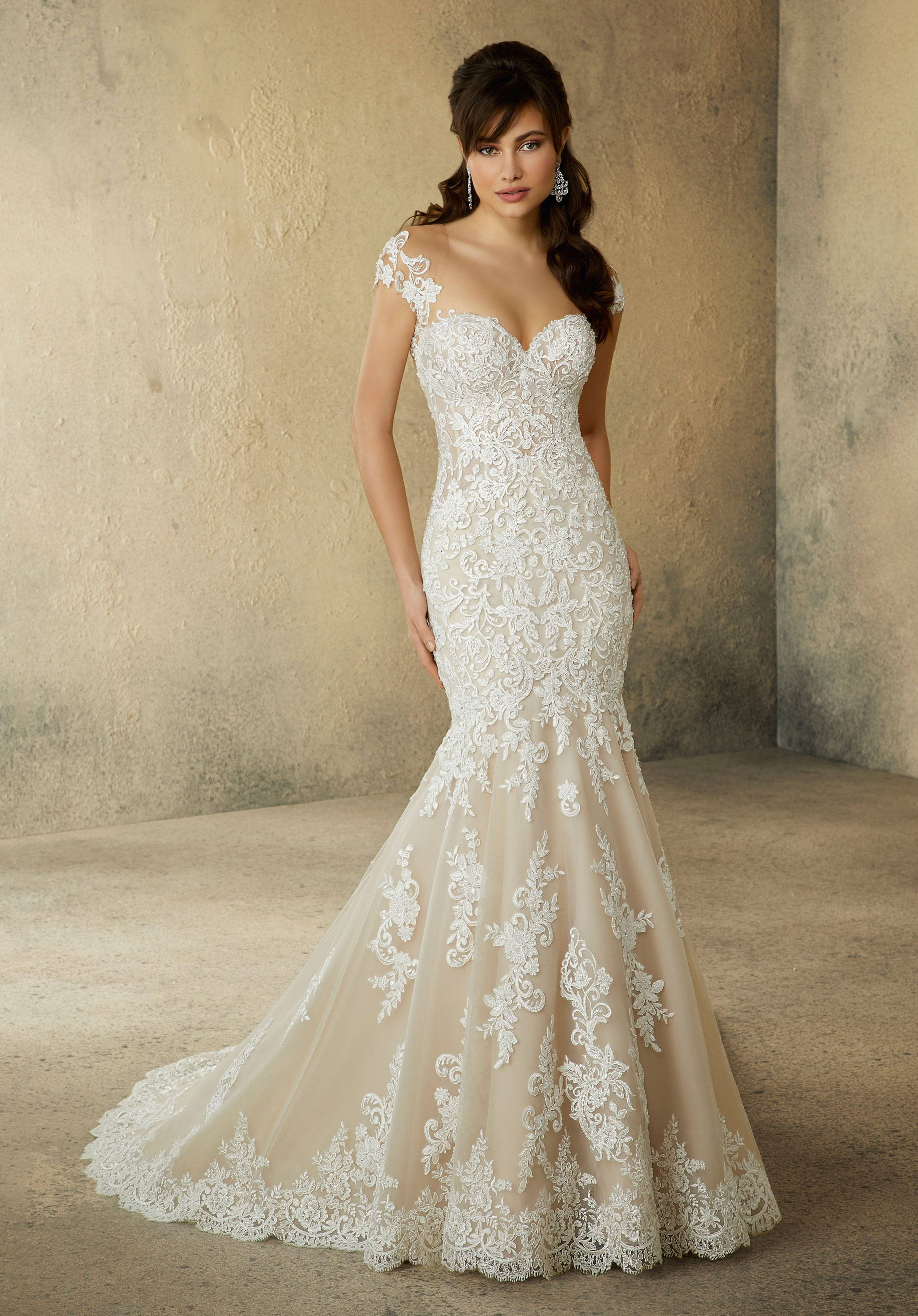 MORI LEE  WEDDING DRESS 3304