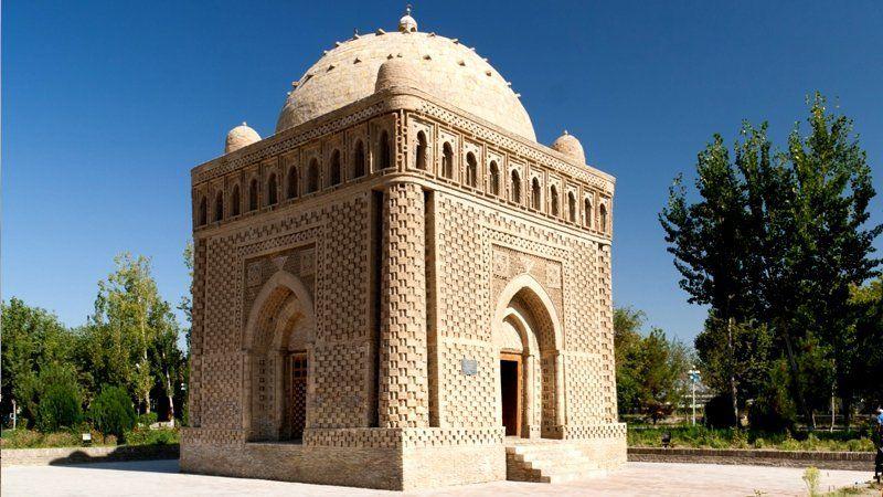 Samanid Mausoleum, Bukhara, Uzbekistan