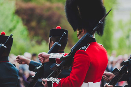 Changing of The Guards Tour