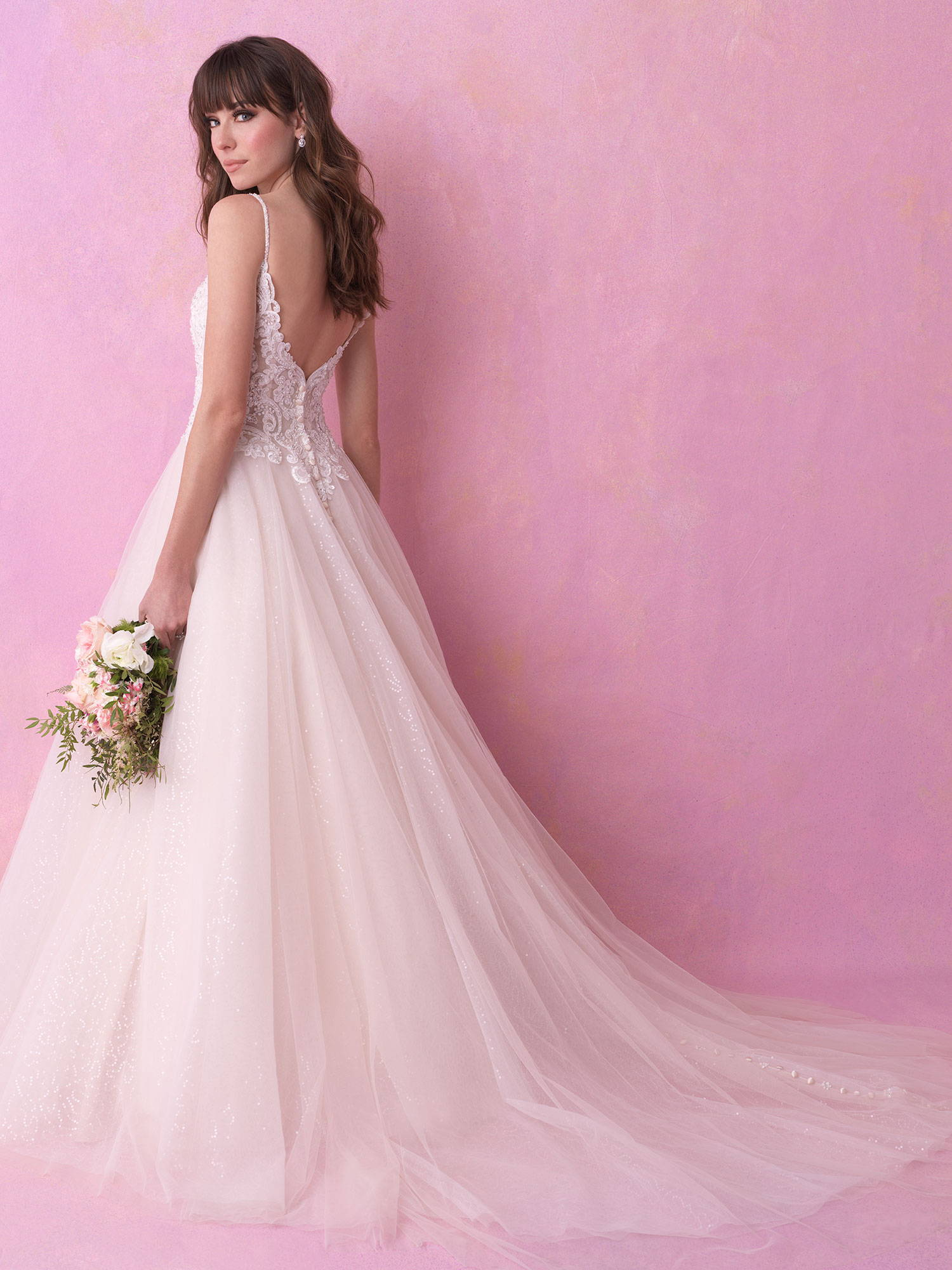 ALLURE  WEDDING DRESS 3150