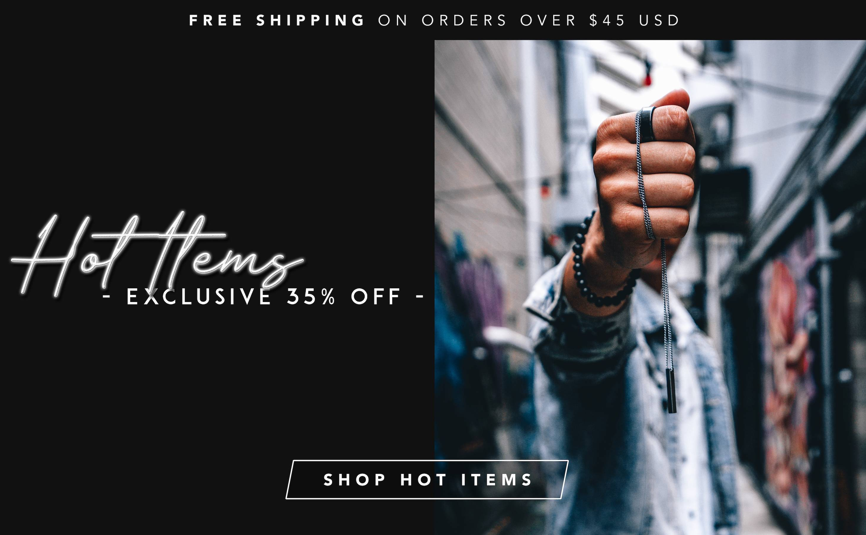 Hot Items 50% Off
