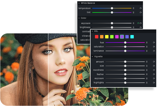 enhance images with Fotosifter