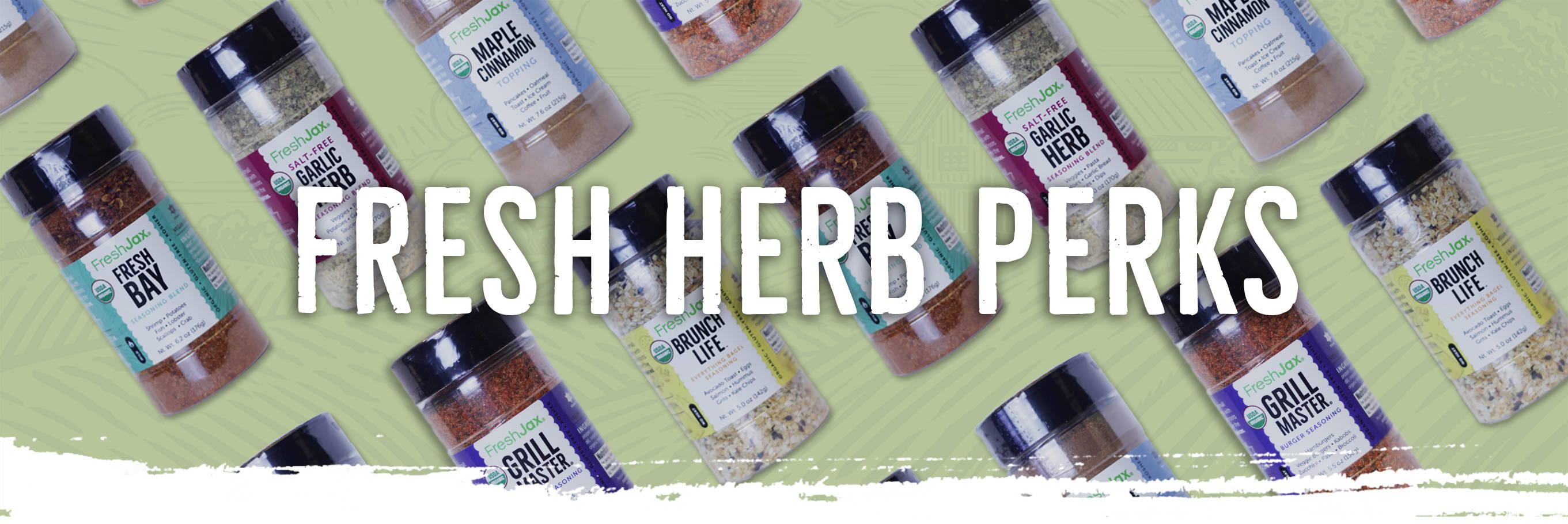 Fresh Herb Perks