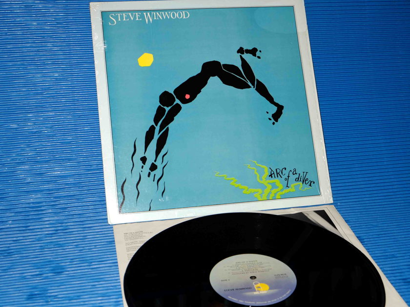 "STEVE WINWOOD - ""Arc of a Diver"" - Island 1980"