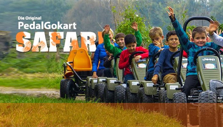 gokart team kinderevents safari tour