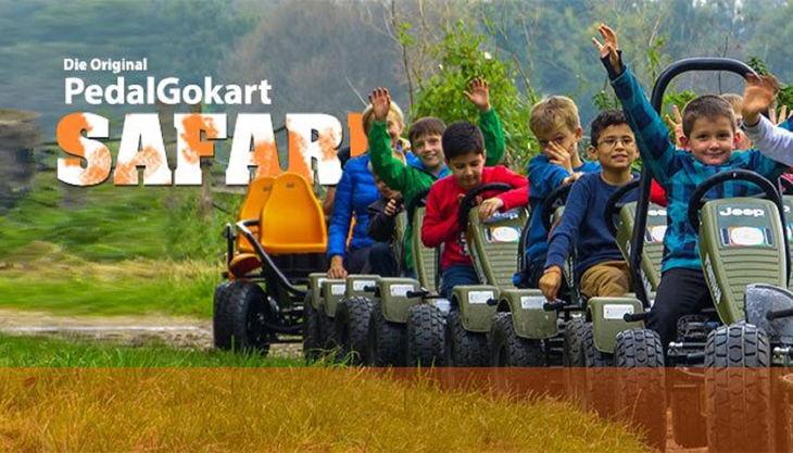gokart team kinderevents safari tour