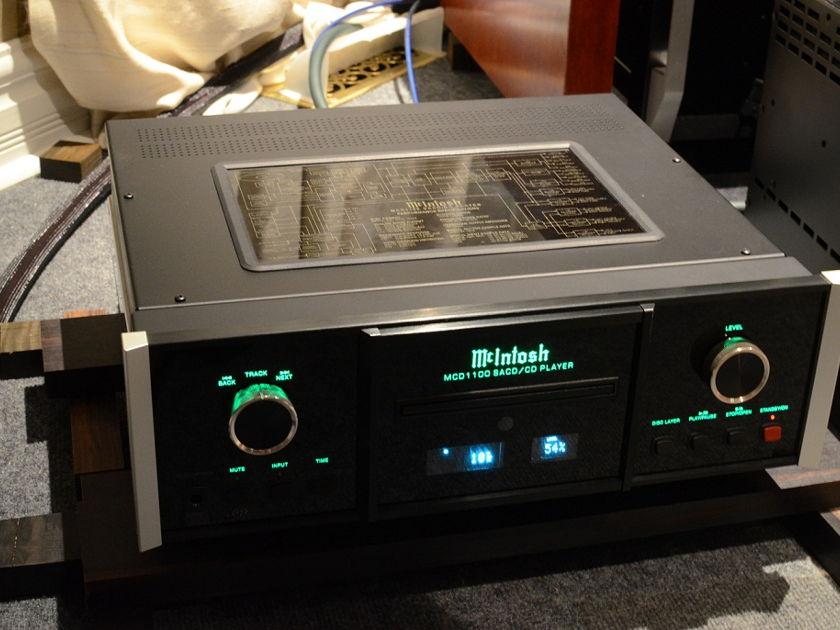 McIntosh MCD1100 CD SACD player