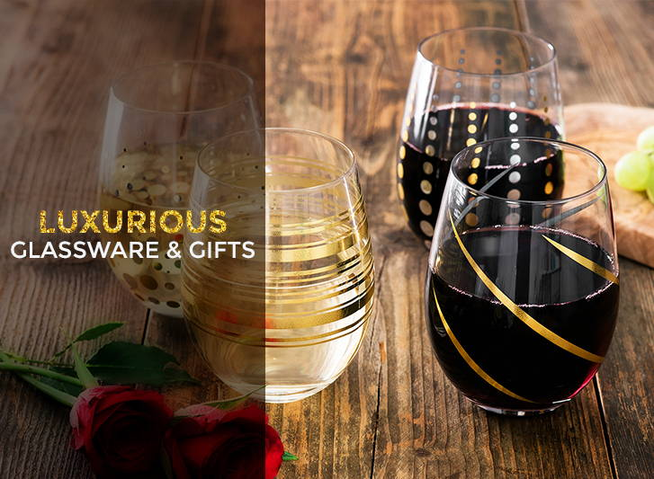 Luxurious Glassware & Gifts