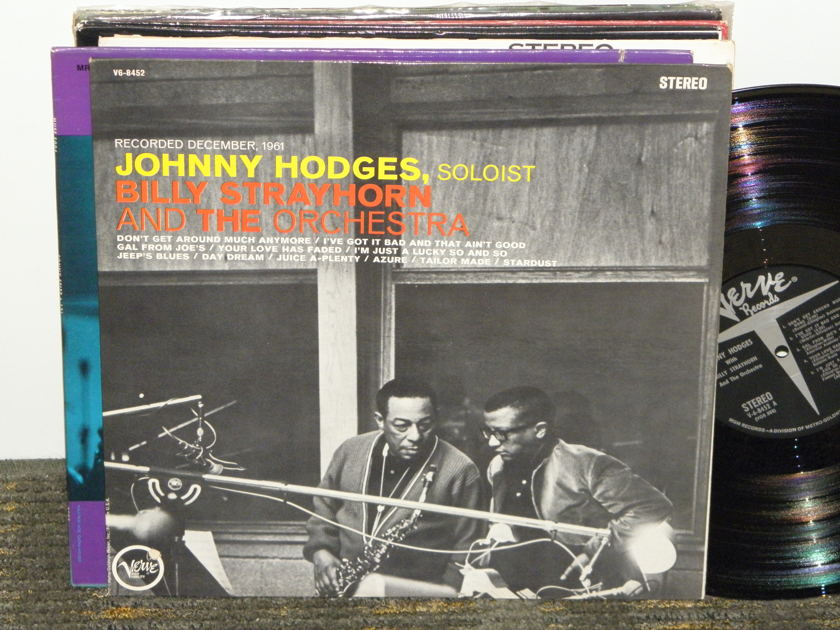 Johnny Hodges Soloist/Billy Strayhorn - Recorded December,1961 VG-8452 stereo