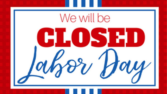Labor Day, September 2nd, Primrose School
