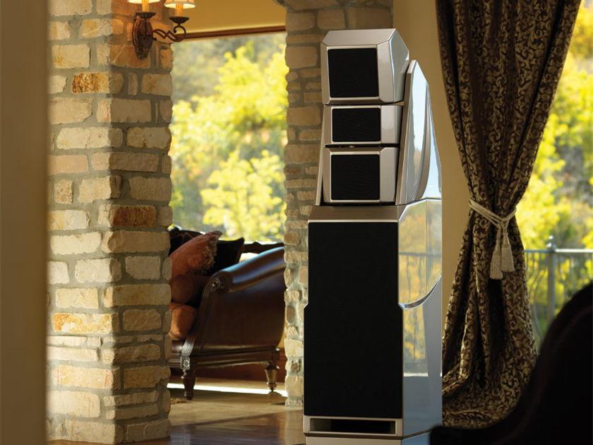 Wilson Audio Alexandria X-2 Series 2 Desert Silver Floorstanding Speakers