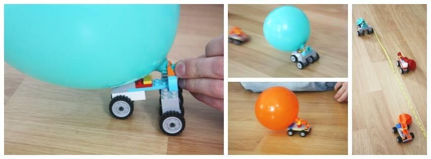 Lego Balloon Cars