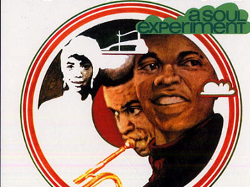 Freddie Hubbard - Soul Experiment Altantic Green/Blue label