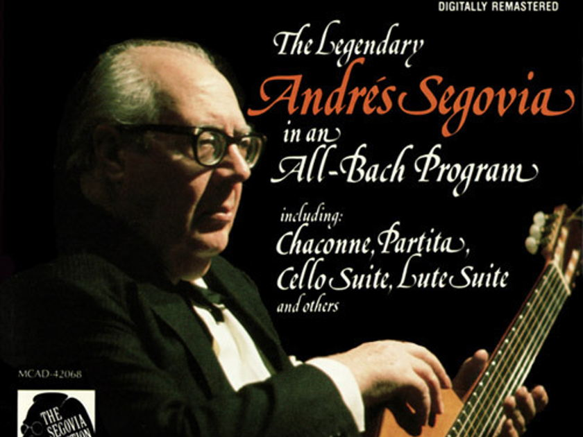 SEALED / The Legendary Andres Segovia - - 5 LPs