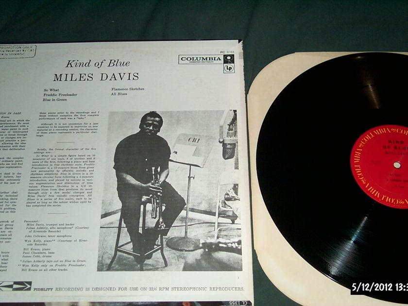 Miles Davis - Kind Of Blue lp nm