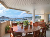 High quality property with unique views of the port of Ibiza