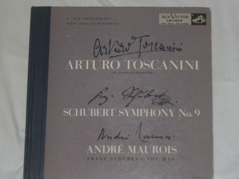 Arturo Toscanini - Shubert Symphony No. 9 RCA Victor LM-1835
