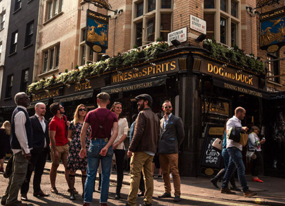 The Secret Soho Pub Tour