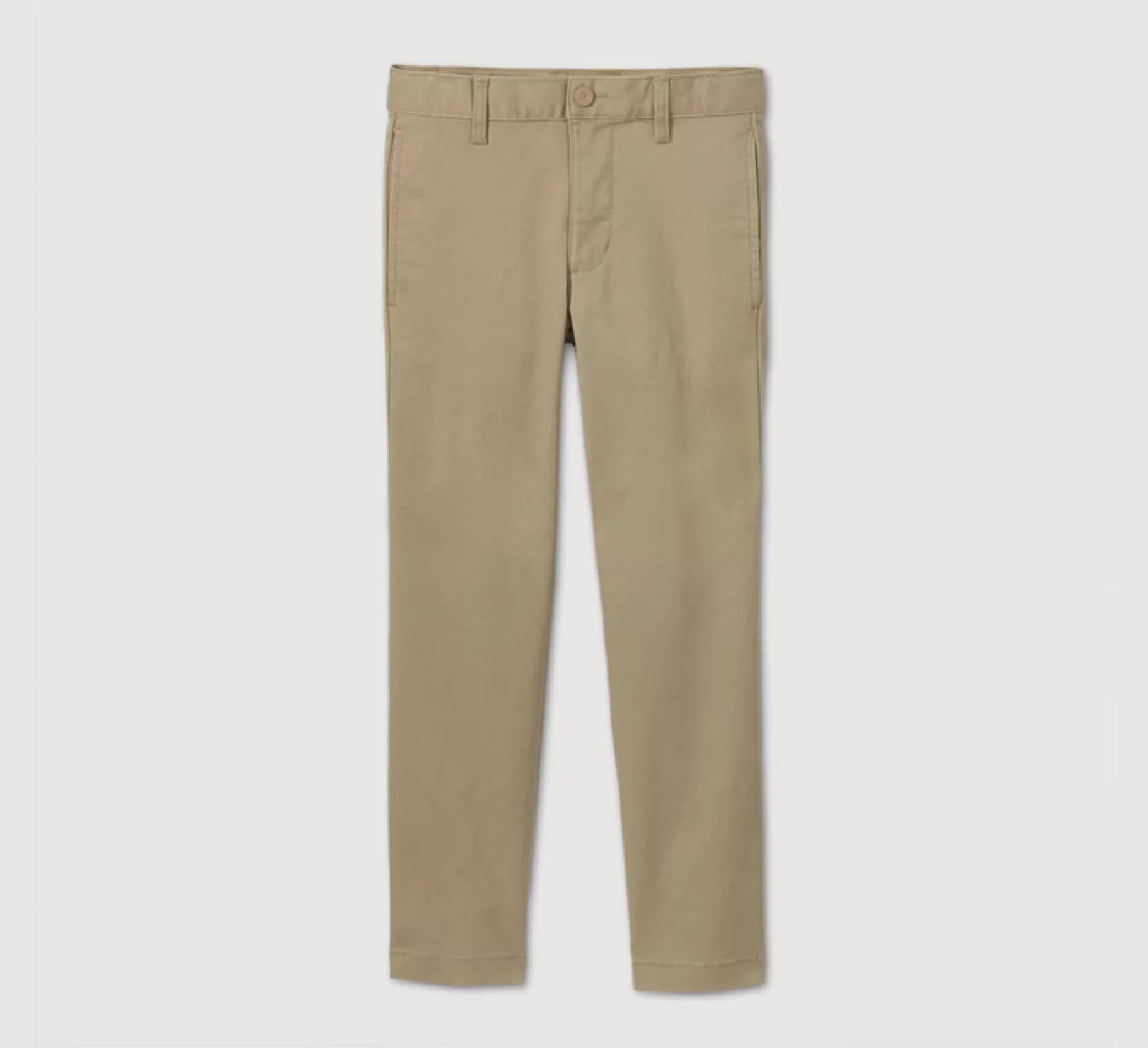 Ring Bearer Khaki Pants